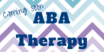 ABA Therapy coming soon to One Child Center for Autism