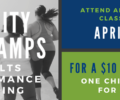 April Bootcamps to benefit One Child