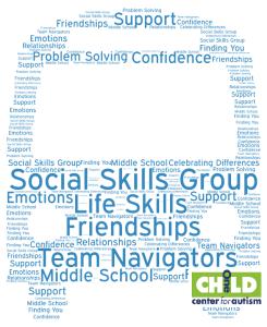 Team Navigators Social Skills Group for Middle School Students
