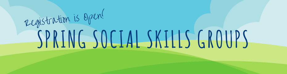 One Child Center for Autism Spring Social Skills Groups Slider